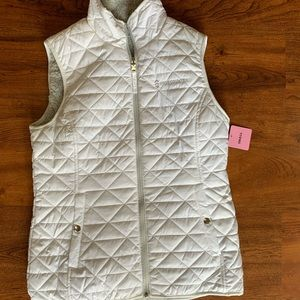 Brand new with tags white Free Country Vest size S